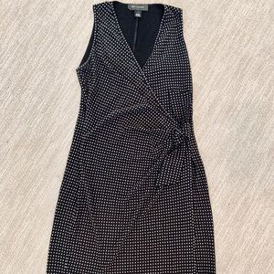 Vintage St. John Studded Dress with Thigh Slit